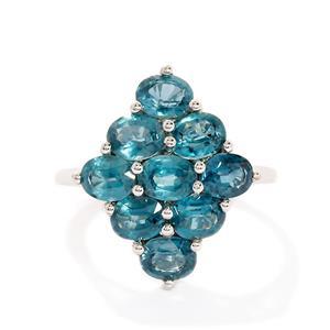 3.95ct Orissa Kyanite 10K White Gold Ring