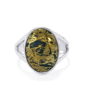 10ct Apache Gold Pyrite Sterling Silver Aryonna Ring