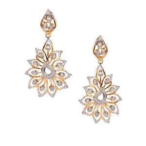 1/4ct Diamond Midas Earrings
