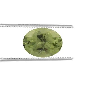 Peridot GC loose stone  1.20cts