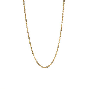 "20"" 9ct Gold Tempo Sparkles Rope Chain 2g"
