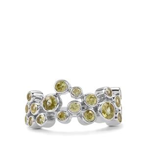 1.75ct Ambilobe Sphene Sterling Silver Ring