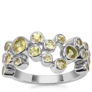 Ambilobe Sphene Ring in Sterling Silver 1.75cts