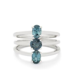 1.73ct Orissa Kyanite Sterling Silver Set of 3 Rings