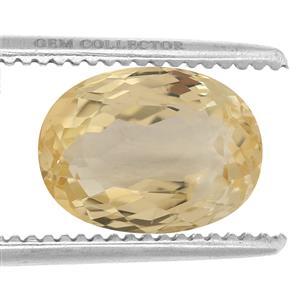 Canary Kunzite GC loose stone  12.75cts