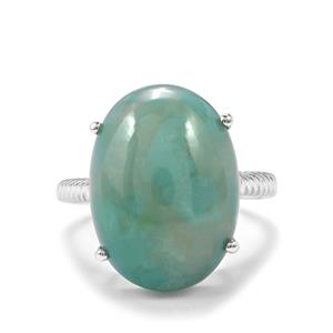 Aquaprase™ Ring in Sterling Silver 9.44cts