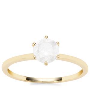 Diamond Ring in 9K Gold 0.96ct