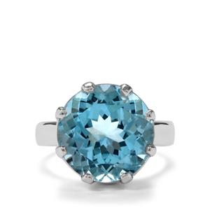 12.50ct Sky Blue Topaz Sterling Silver Aryonna Ring