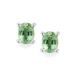 0.87ct Nuagaon Kyanite Sterling Silver Earrings