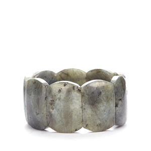 Labradorite Elasticated Bracelet  612.37cts
