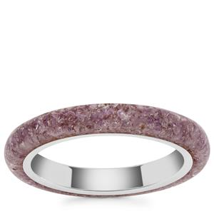 Bahia Amethyst Ring in Sterling Silver 3cts