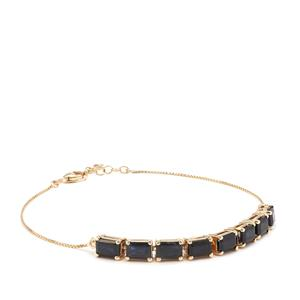 Ethiopian Sapphire Bracelet in 9K Gold 5.69cts
