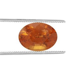 Tangerine Garnet Loose stone  3.18cts