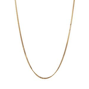 "16/18"" 9K Gold Classico Curb Chain 0.76g"
