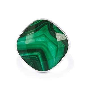17.16ct Malachite Sterling Silver Aryonna Ring