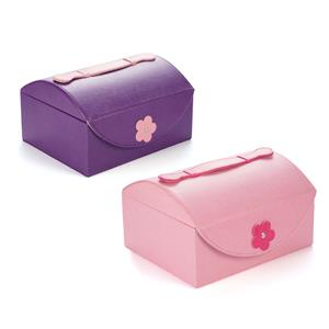 Flower Jewellery Box with handle