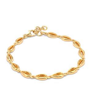 12.92g Midas Conch Shell Altro Bracelet