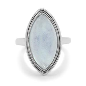 9ct Aquamarine Sterling Silver Aryonna Ring