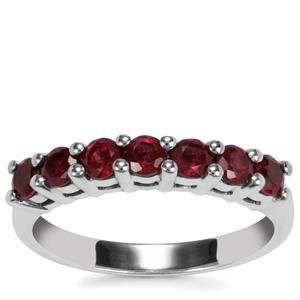 Malagasy Ruby Ring in Sterling Silver 1.21cts (F)
