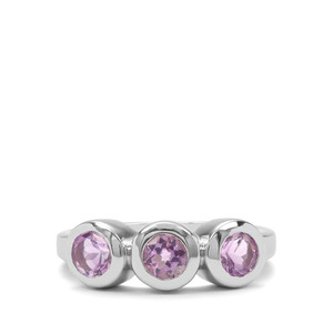 1.37ct Moroccan Amethyst Sterling Silver Ring