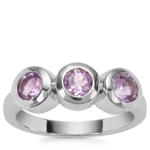 Moroccan Amethyst Ring in Sterling Silver 1.37cts