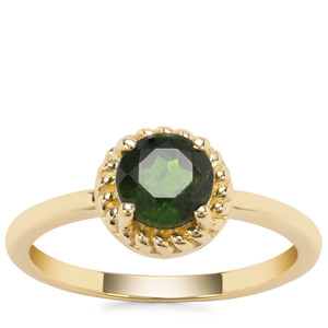 Chrome Diopside Ring in 9K Gold 0.92ct