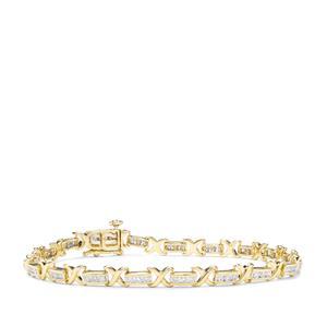 1ct Canadian Diamond 9K Gold Tomas Rae Bracelet