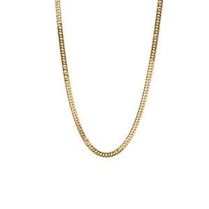 """18"""" 9K Gold Classico Triple Curb Chain 4.60g"""