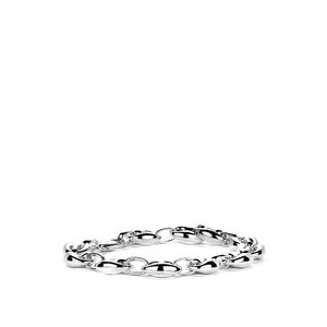"7"" Sterling Silver Altro Bracelet 11.23g"
