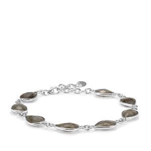 Labradorite Bracelet in Sterling Silver 20cts