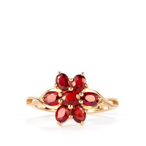 Winza Ruby Ring in 10K Gold 1.42cts