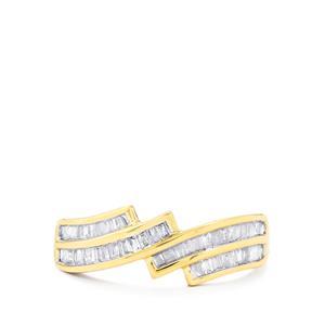 1/2ct Diamond 10K Gold Ring