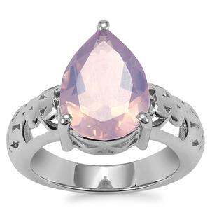 Sapucaia Quartz Ring in Sterling Silver 4.40cts