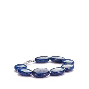 Lapis Lazuli Bracelet in Sterling Silver 150cts