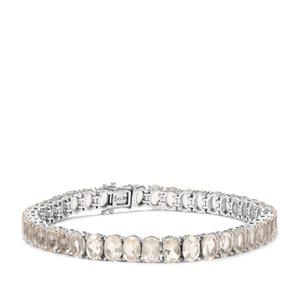 26.53ct Cuprian Sunstone Sterling Silver Bracelet