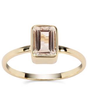 Serenite Ring in 9K Gold 0.96ct