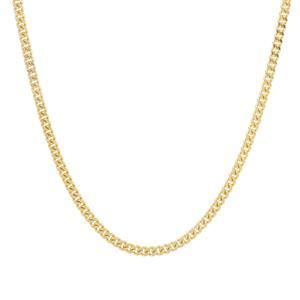"""24"""" Midas Diamond Cut Grumetta Slider Chain 3.87g"""