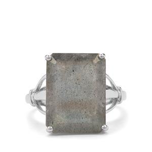 9.87ct Labradorite Sterling Silver Ring