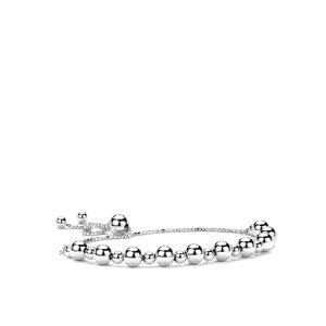 Sterling Silver Ball Altro Slider Bracelet 6.90g
