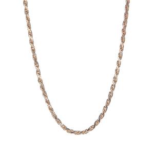"18"" 9K Gold Tempo Diamond Cut Rope Chain 9.11g"