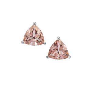 Galileia Topaz Earrings in Sterling Silver 3.92cts