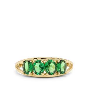 1.45ct Tsavorite Garnet 9K Gold Ring