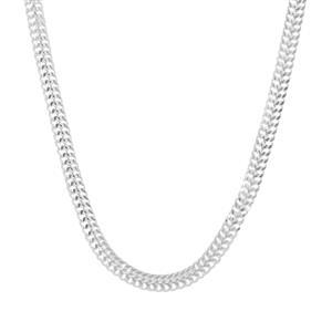 "30"" Sterling Silver Diamond Cut Arrow Chain 4.23g"