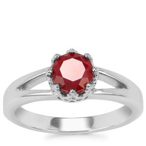 Malagasy Ruby Ring in Sterling Silver 1.28cts (F)