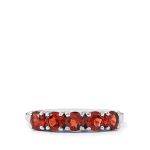1.63ct Nampula Garnet Sterling Silver Ring