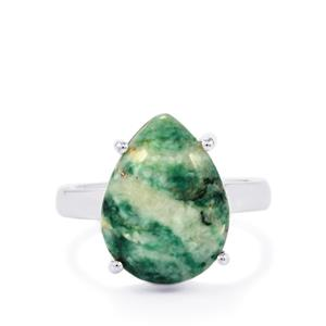 8.59ct Siberian Mariposite Sterling Silver Aryonna Ring