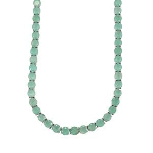Aquaprase™ Necklace in Sterling Silver 65.63cts