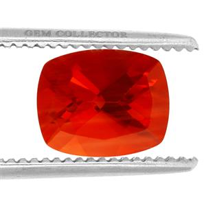 Tarocco Red Andesine GC loose stone  2.95cts
