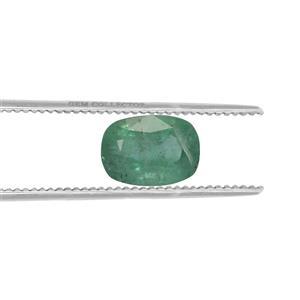 Zambian Emerald GC loose stone  1.85cts