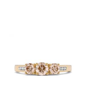 1ct Argyle Diamond 18K Gold Ring